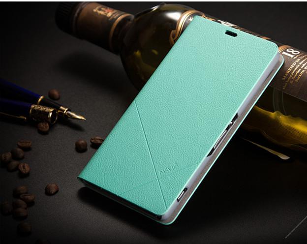 เคส Sony Xperia Z1 SOXZ1-003 เคสฝาพับสีฟ้า