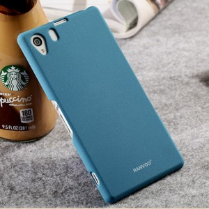เคส Sony Xperia Z1 SOXZ1-004 เคสแข็งสีฟ้า