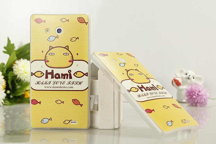 เคสซิลิโคน Huawei Ascend Mate HUAM-S002 - Omega Case 16