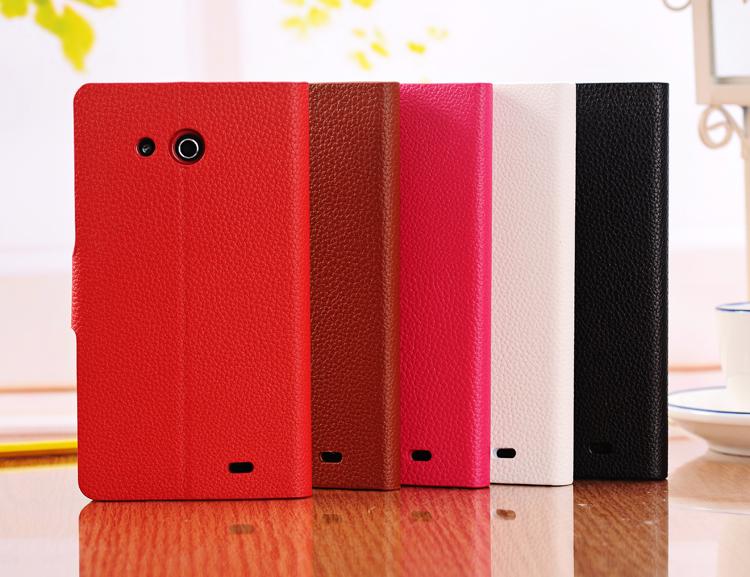 เคสฝาพับ Huawei Ascend Mate HUAM-F002 - Omega Case 3