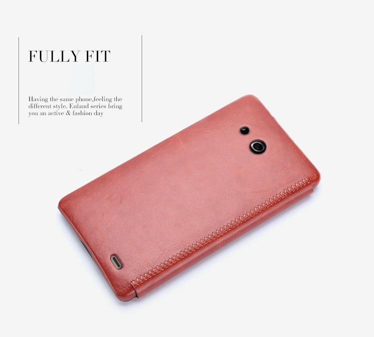 เคสฝาพับ Huawei Ascend Mate HUAM-F004 - Omega Case 8