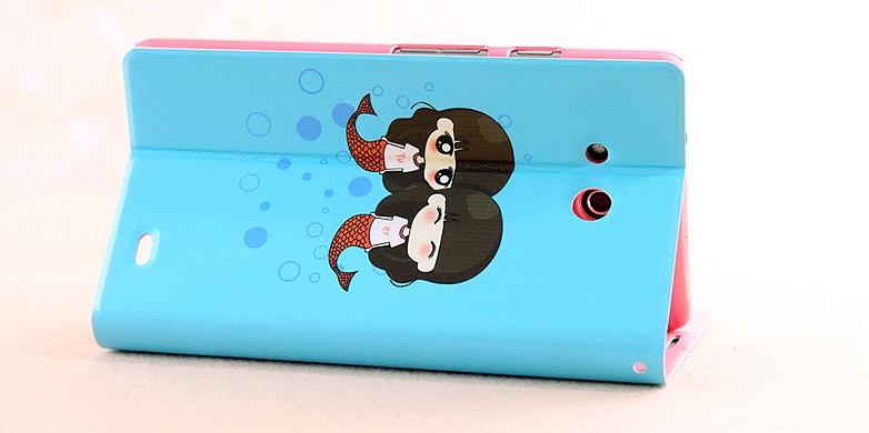 เคสฝาพับ Huawei Ascend Mate HUAM-F010 - Omega Case 7