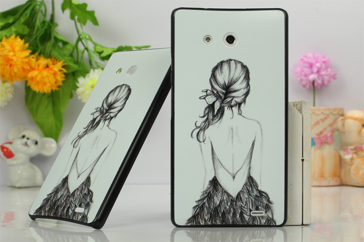 เคสแข็ง Huawei Ascend Mate HUAM-H006 - Omega Case 17