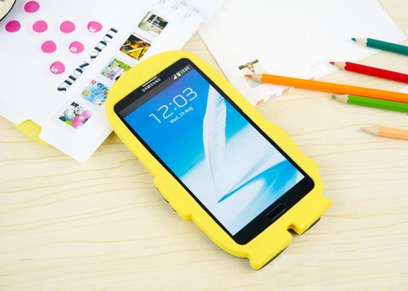 เคส Samsung Galaxy Note 3 ซิลิโคน Minion รุ่น SAN3-S001 - 2