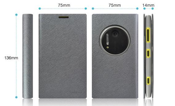 เคสฝาพับ Nokia Lumia 1020 NL1020 - F003 - Omega Case 1