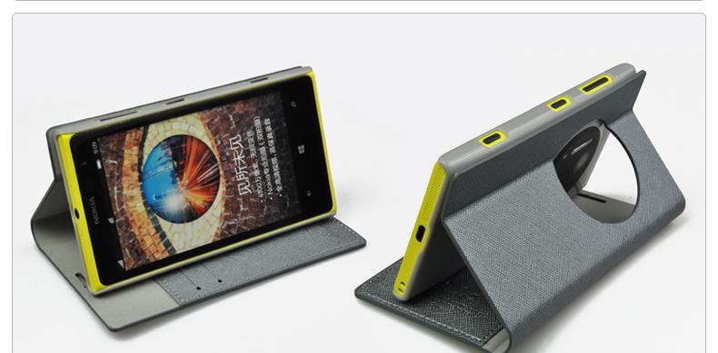เคสฝาพับ Nokia Lumia 1020 NL1020 - F003 - Omega Case 4