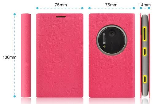 เคสฝาพับ Nokia Lumia 1020 NL1020 - F003 - Omega Case 5