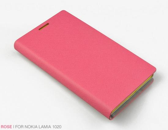 เคสฝาพับ Nokia Lumia 1020 NL1020 - F003 - Omega Case 6