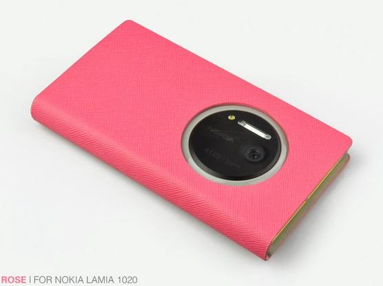 เคสฝาพับ Nokia Lumia 1020 NL1020 - F003 - Omega Case 7