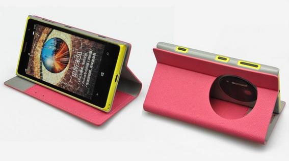เคสฝาพับ Nokia Lumia 1020 NL1020 - F003 - Omega Case 8
