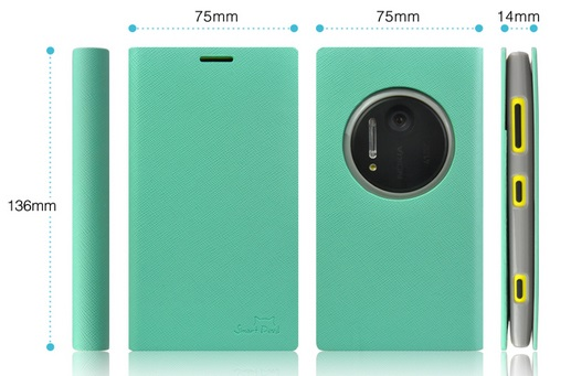 เคสฝาพับ Nokia Lumia 1020 NL1020 - F003 - Omega Case 9