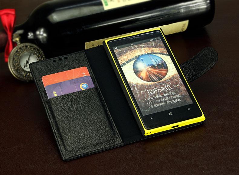 เคสฝาพับ Nokia Lumia 1020 NL1020 - F004 - Omega Case 10