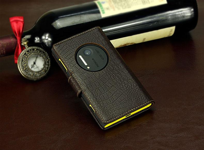 เคสฝาพับ Nokia Lumia 1020 NL1020 - F004 - Omega Case 6