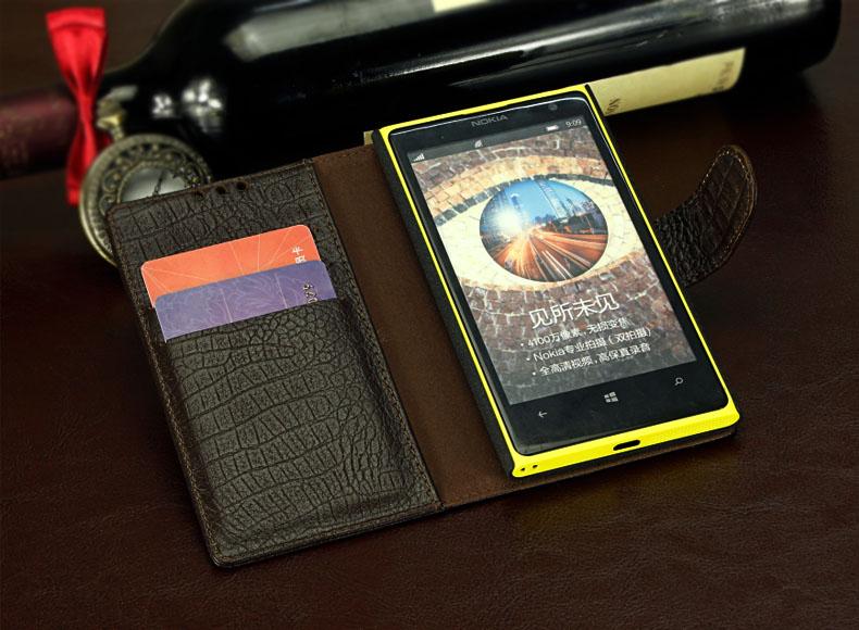เคสฝาพับ Nokia Lumia 1020 NL1020 - F004 - Omega Case 7