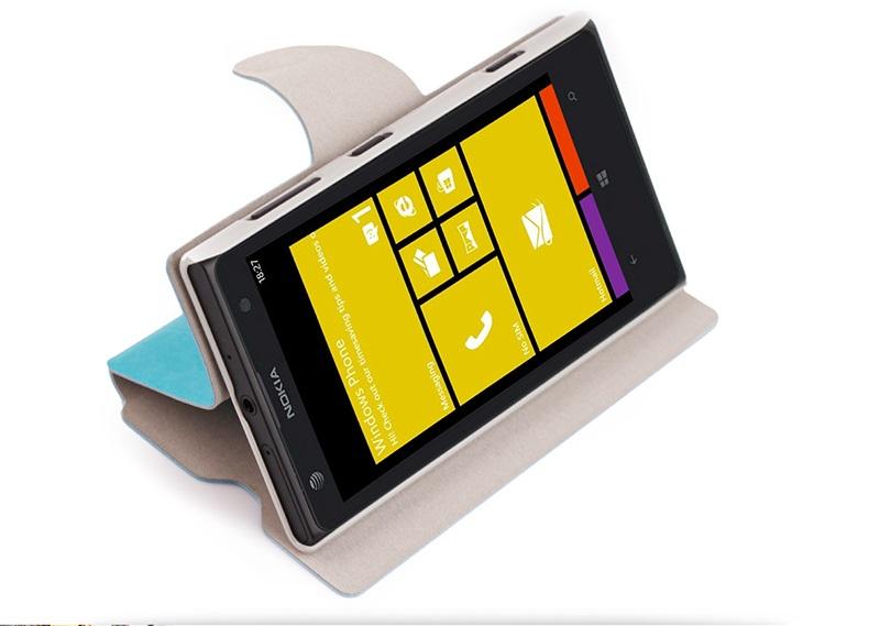 เคสฝาพับ Nokia Lumia 1020 NL1020 - F005 - Omega Case 2