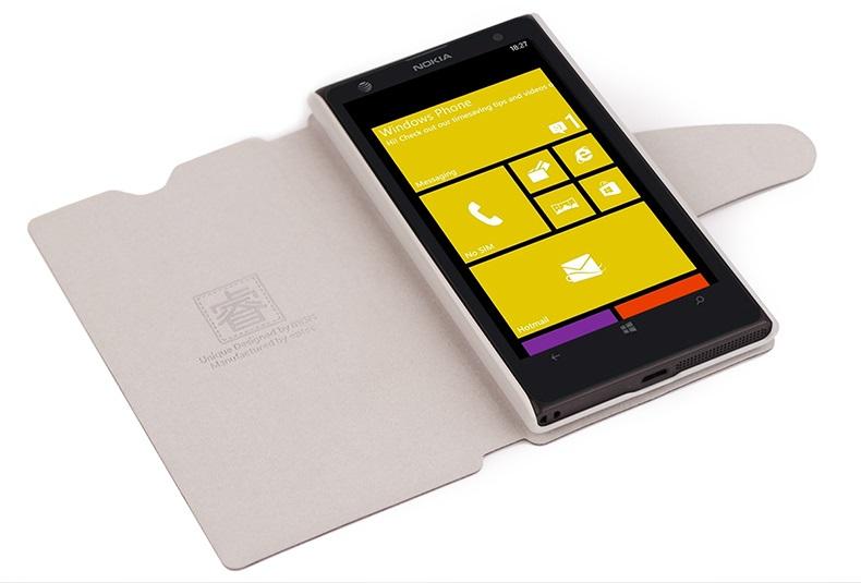 เคสฝาพับ Nokia Lumia 1020 NL1020 - F005 - Omega Case 8