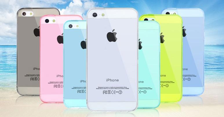 เคสซิลิโคน Iphone5S IP5S-S001 - Omega Case 1