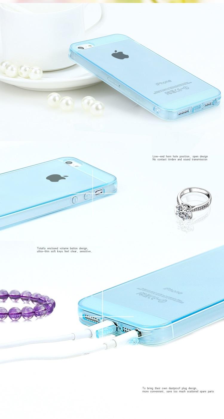 เคสซิลิโคน Iphone5S IP5S-S001 - Omega Case 8
