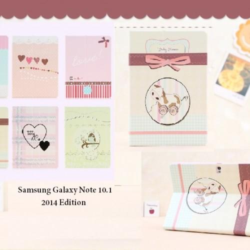 เคส Samsung Galaxy Note10.1 2014 editon – ฝาพับ รุ่น SAN10.1.2014 – F007 Cover
