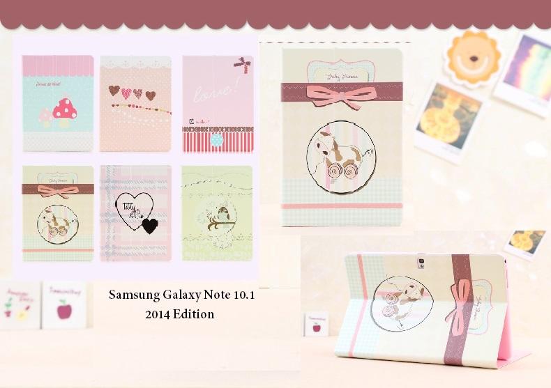 เคส Samsung Galaxy Note10.1 2014 editon - ฝาพับ รุ่น SAN10.1.2014 - F007 Cover