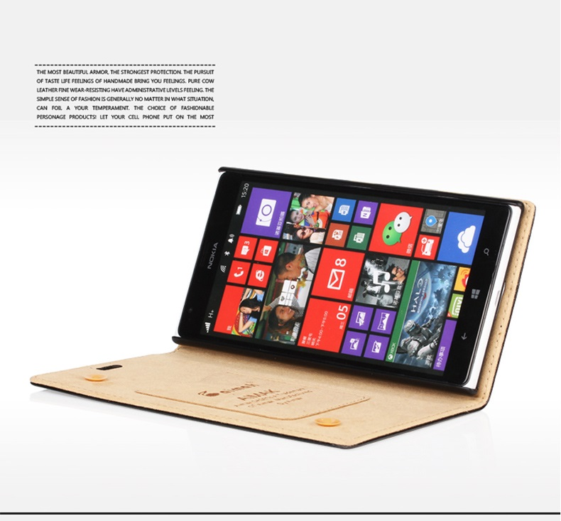 เคสฝาพับ Nokia Lumia 1520 NL1520-F004 - Omega Case 14