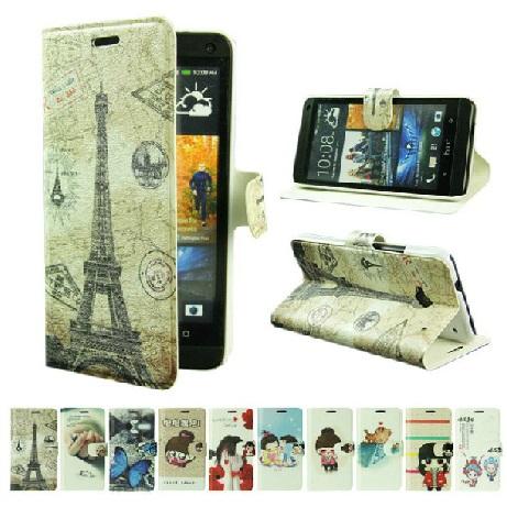 เคสฝาพับ HTC One รุ่น HONE – F001 – Omega Case 1