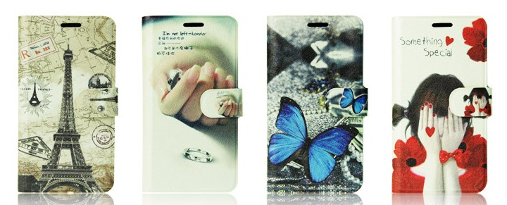 เคสฝาพับ HTC One รุ่น HONE - F001 - Omega Case 3