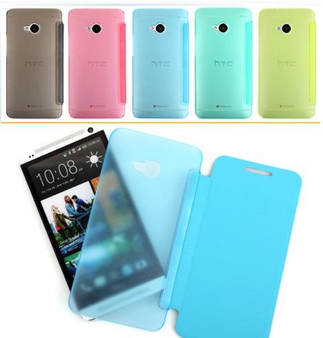 เคสฝาพับ HTC One รุ่น HONE - F004 - Omega Case (1)