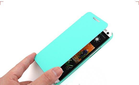 เคสฝาพับ HTC One รุ่น HONE - F004 - Omega Case (10)