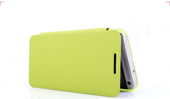เคสฝาพับ HTC One รุ่น HONE - F004 - Omega Case (13)