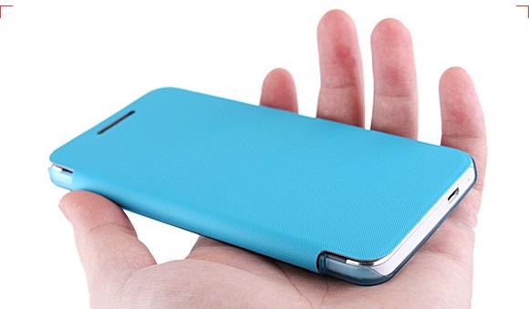 เคสฝาพับ HTC One รุ่น HONE - F004 - Omega Case (2)