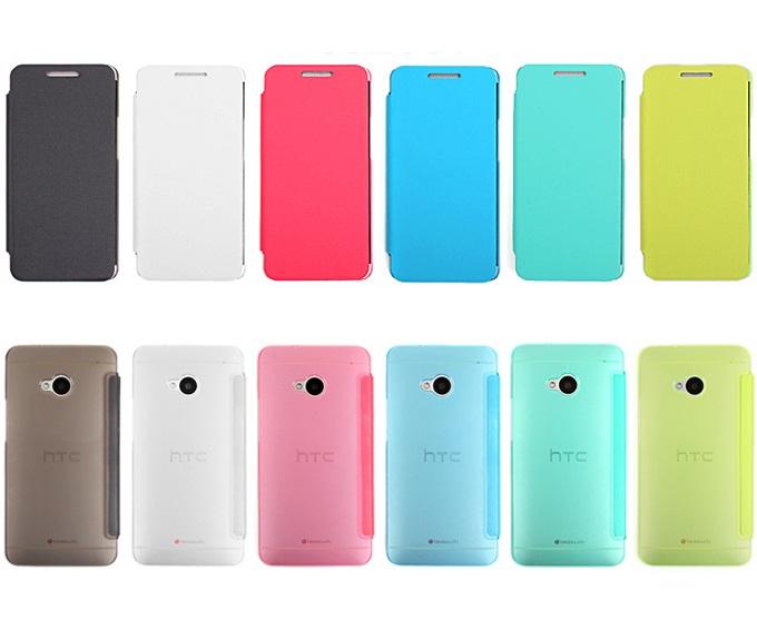 เคสฝาพับ HTC One รุ่น HONE - F004 - Omega Case (3)