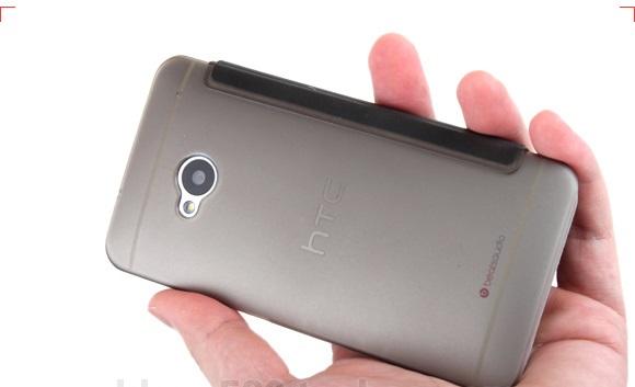 เคสฝาพับ HTC One รุ่น HONE - F004 - Omega Case (6)