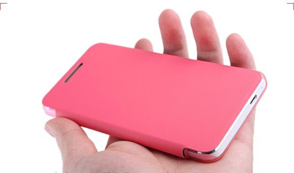 เคสฝาพับ HTC One รุ่น HONE - F004 - Omega Case (7)