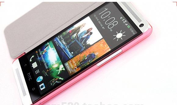 เคสฝาพับ HTC One รุ่น HONE - F004 - Omega Case (9)