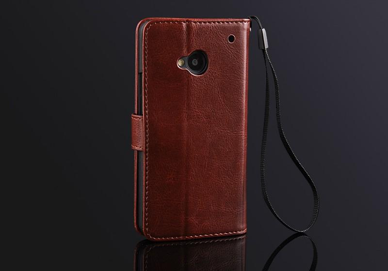 เคสฝาพับ HTC One รุ่น HONE - F005 - Omega Case (2)