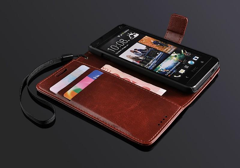 เคสฝาพับ HTC One รุ่น HONE - F005 - Omega Case (4)