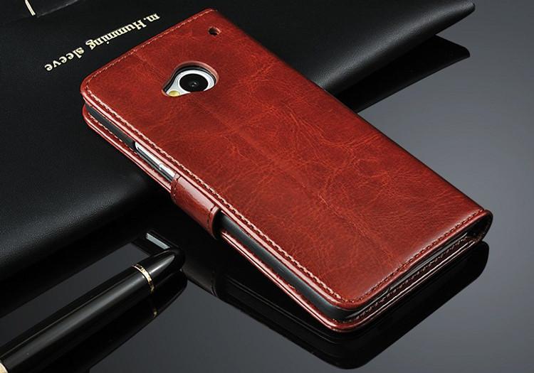 เคสฝาพับ HTC One รุ่น HONE - F005 - Omega Case (7)