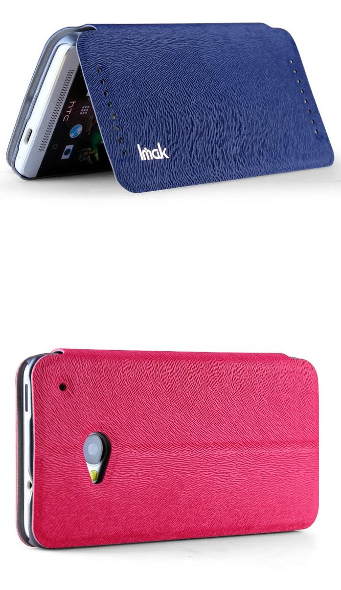 เคสฝาพับ HTC One รุ่น HONE - F006 - Omega Case (4)