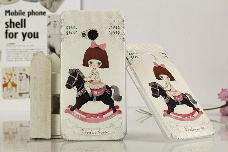 เคสฝาพับ HTC One รุ่น HONE - H004 - Omega Case (24)