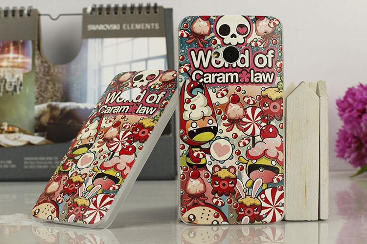 เคสฝาพับ HTC One รุ่น HONE - H004 - Omega Case (48)