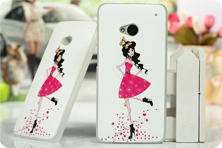 เคสฝาพับ HTC One รุ่น HONE - H004 - Omega Case (54)