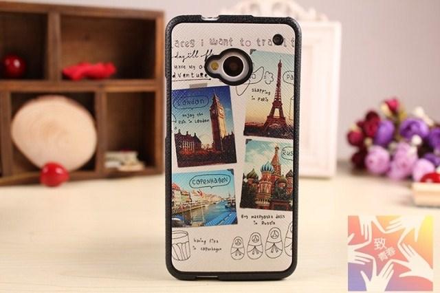 เคสฝาพับ HTC One รุ่น HONE - H005 - Omega Case (3)