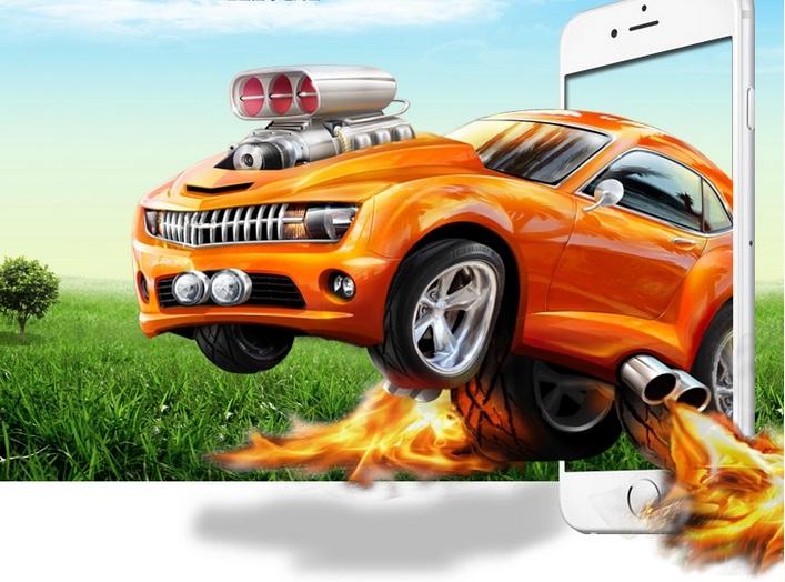 ฟิล์มกระจกกันแตก คุณภาพปานกลาง Iphone 6 Plus - Omega Case 3